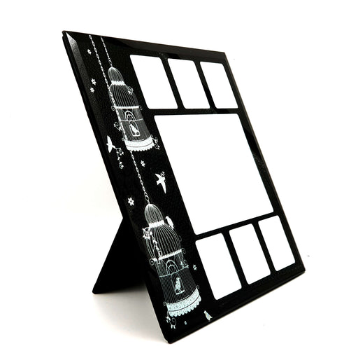 Multi Aperture Photo Frame 7 Photo Desk Frame side 1