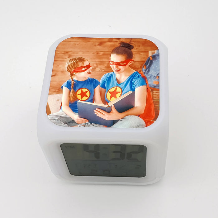 Children's Personalised Alarm Clock side 2