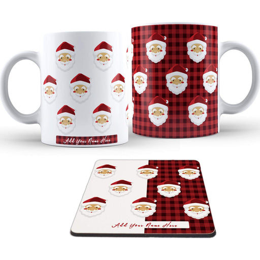 Personalised Santa Mug and Coaster Set design-your-gift.