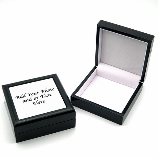 Personalised Jewellery Box - Black