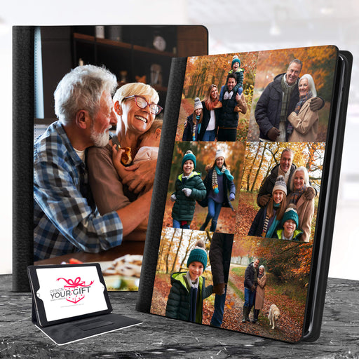 Personalised iPad Leather Case design-your-gift.
