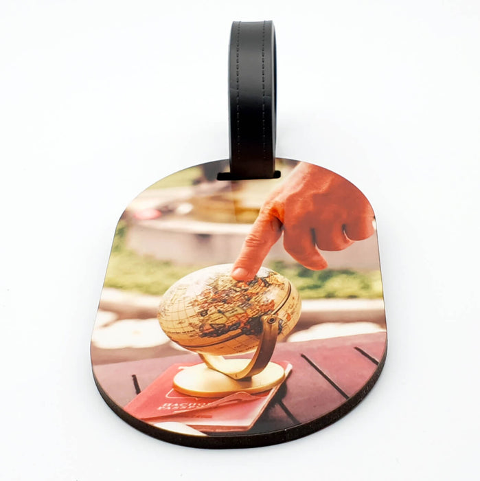 Personalised Luggage Tag - Double Sided design-your-gift.