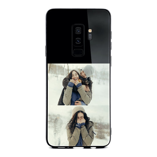 Samsung Galaxy S9+ 2 Photo collage Glass phone case