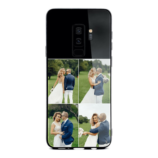 Samsung Galaxy S9+ 4 Photo collage Glass phone case