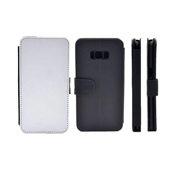 Design Your Galaxy S8 Plus Wallet Phone Case - back and front blank visual