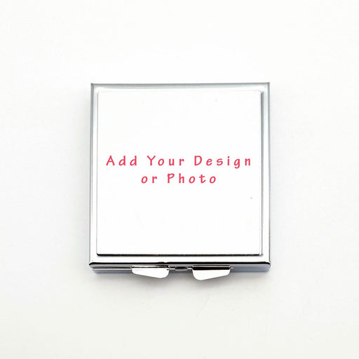 blank compact mirror to be personalised with your design