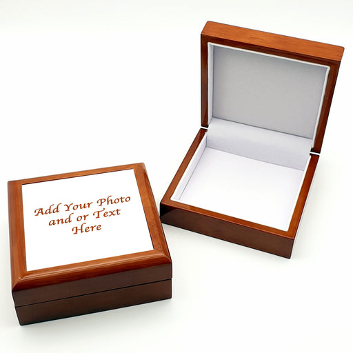 Personalised Jewellery Box - Brown design-your-gift.