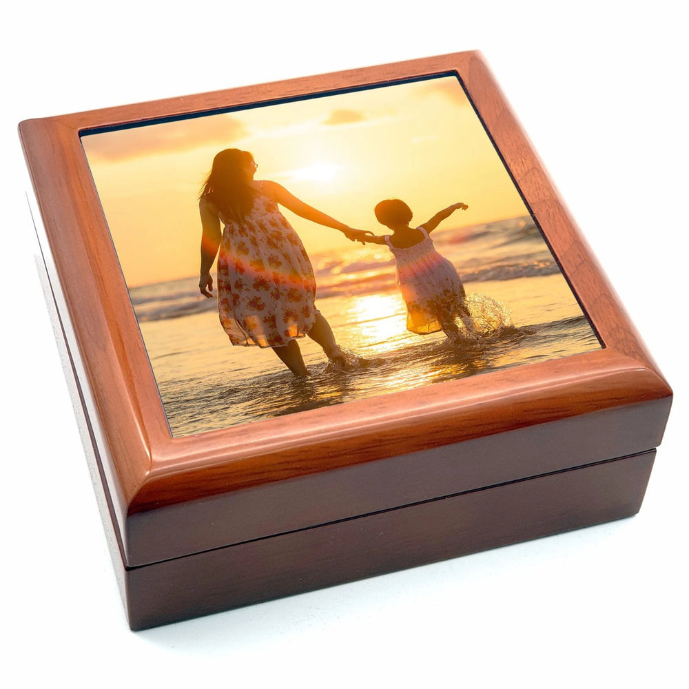 Personalised Jewellery Box - Brown