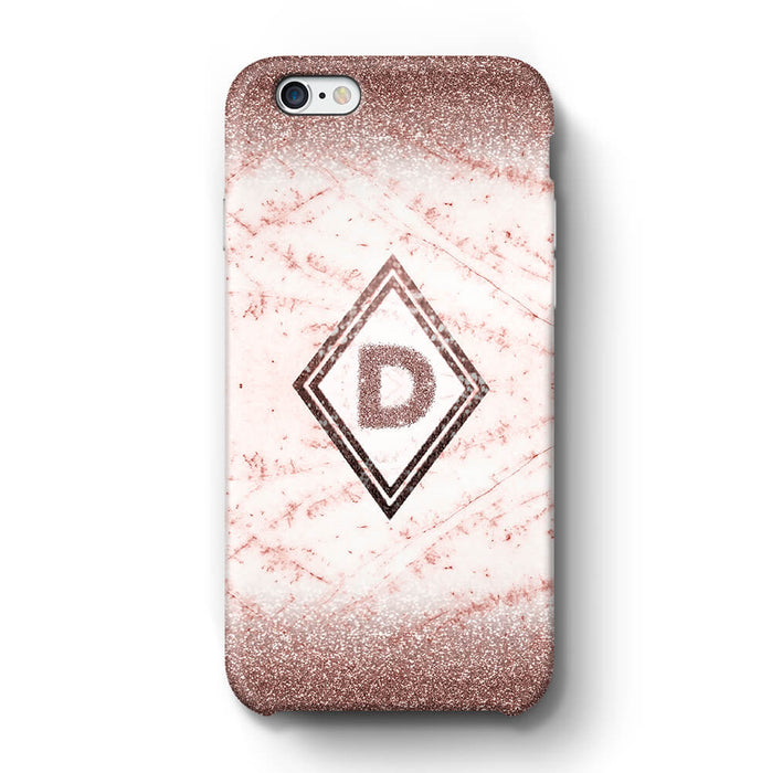 online store 1dc7c b5e8e luxury Marble and Glitter Ombre iPhone 6 Case | Initial Phone Case ...