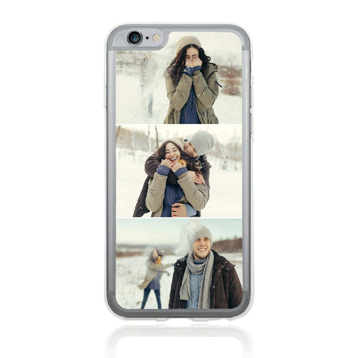 3 Photo Collage - iPhone 6 Clear Phone Case design-your-gift.