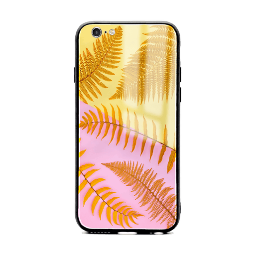 iphone 6/6s glass phone case with feria wild ombre design
