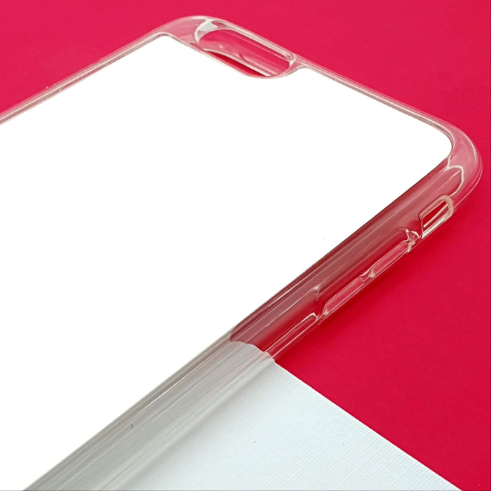 5 Photo Collage - iPhone 6 Plus Clear Phone Case Blank