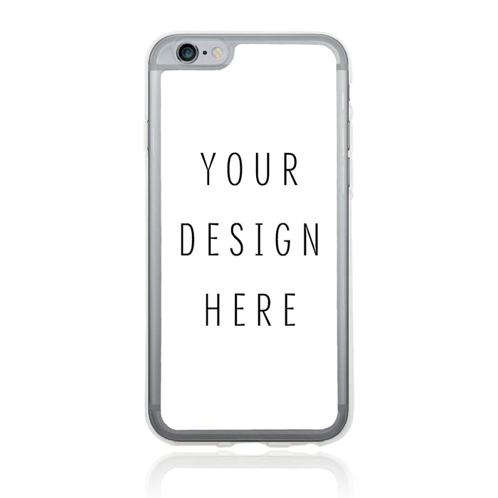 Design Your iPhone 6 Plus Clear Phone Case | Custom Case