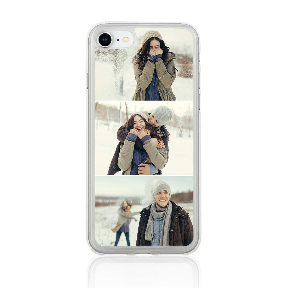 iPhone 7 Clear Phone Case | 3 Photos Phone Case