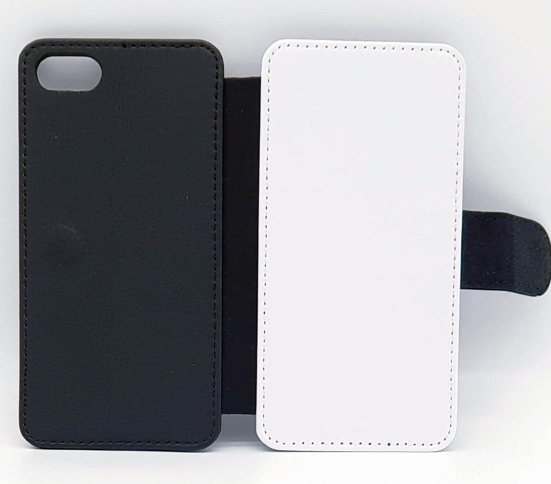 Design Your Own iphone 7 Wallet Case - back and front blank visual