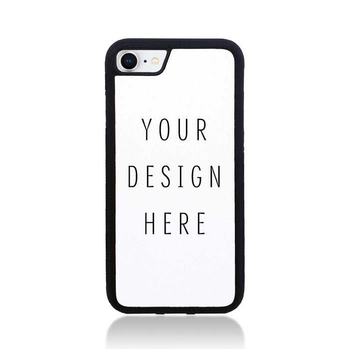 Design Your Own iPhone 7 Black Rubber Phone Case