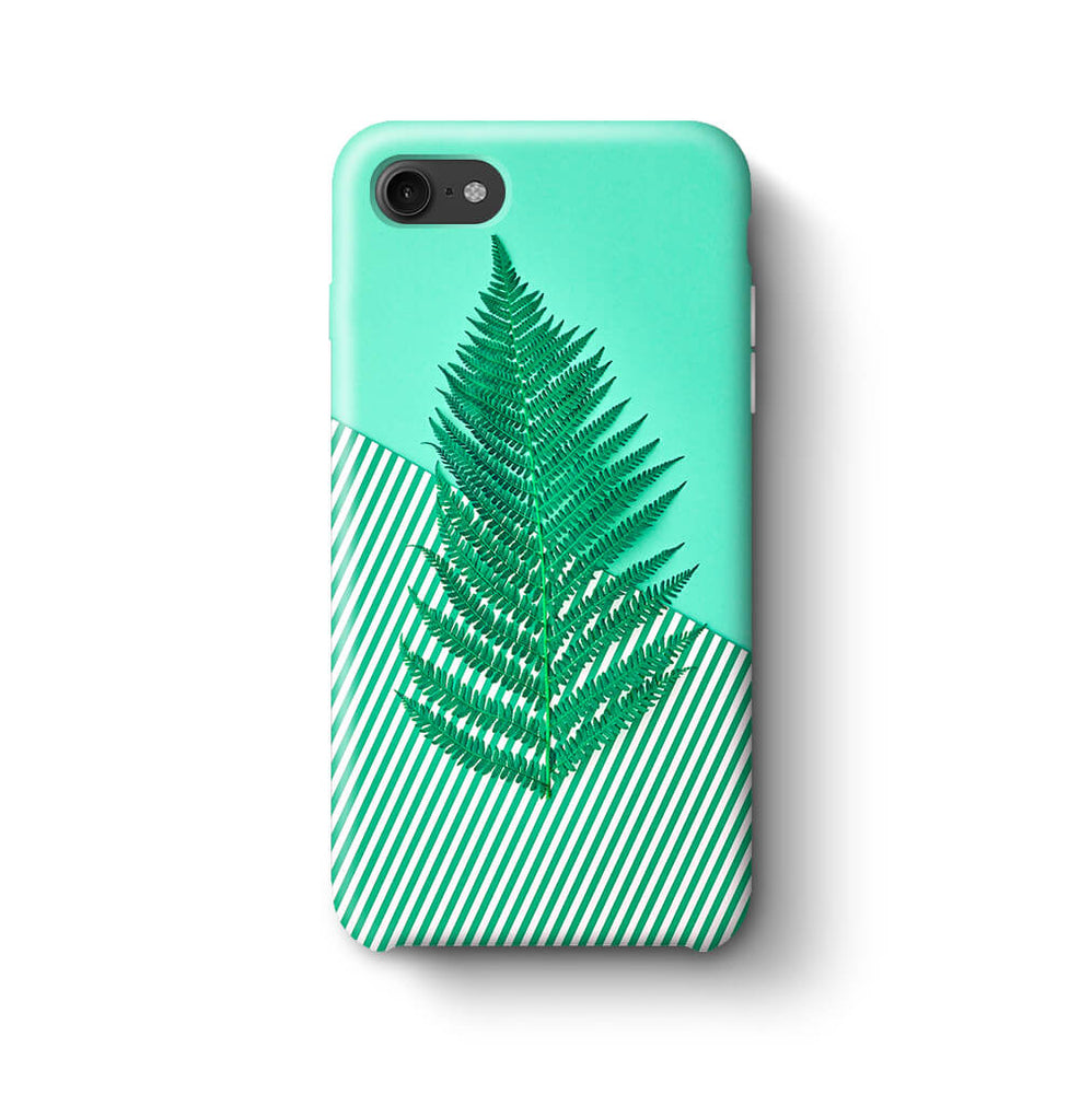 Green Feria iPhone 8 3D Phone Case