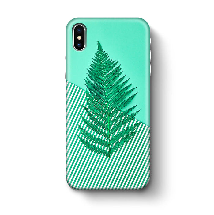 Green Feria iPhone X 3D Phone Case