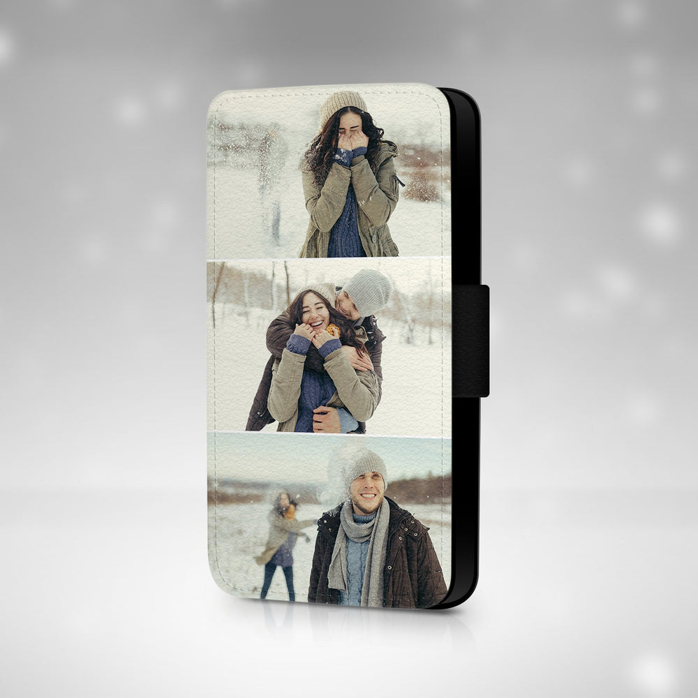 3 Photo Collage | iPhone X Wallet Phone Case