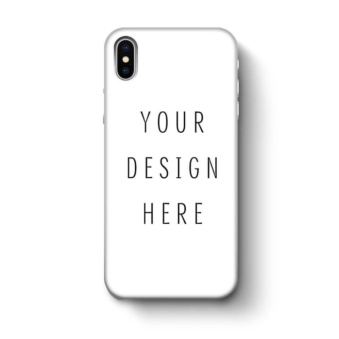 Design Your Own iPhone X 3D Custom Phone Case