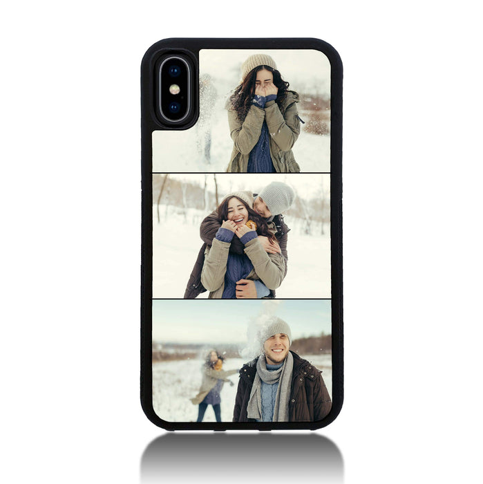 new product 482d3 8d79d 3 Photo Collage - iPhone X Personalised Phone Case