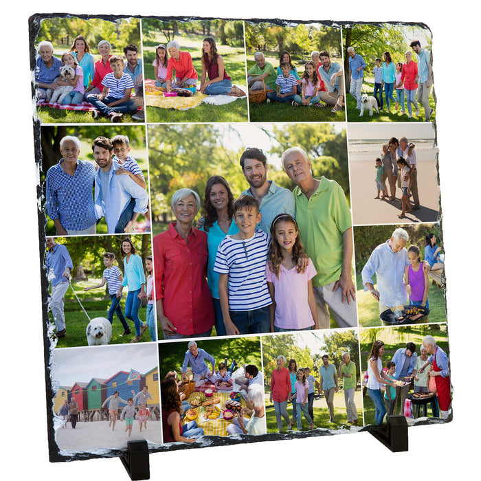 Large Photo Slate 30x30 cm design-your-gift.