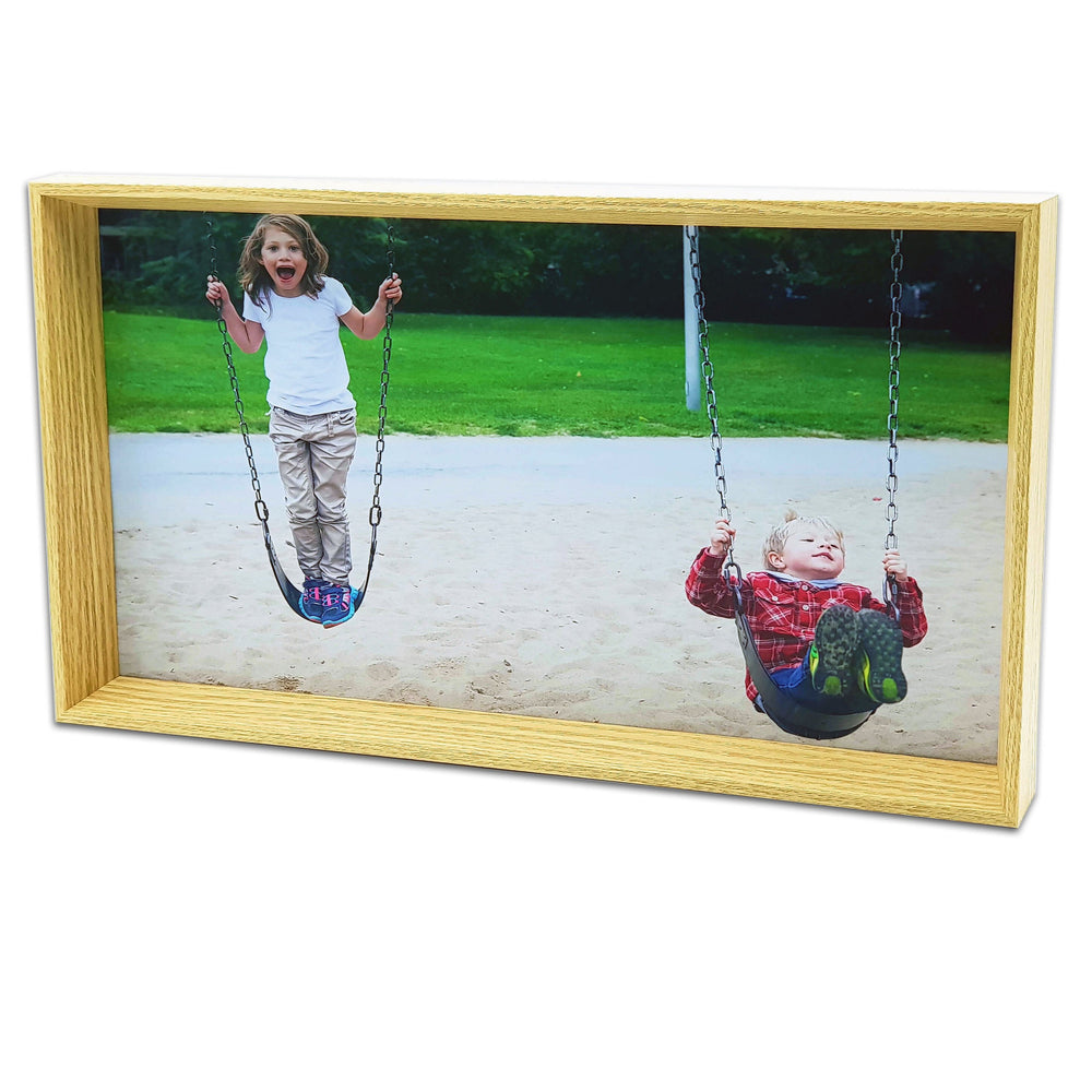 Box Photo Frame with landscape picture