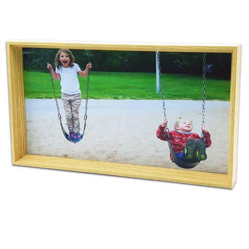 Box Photo Frame - 38x21 cm Wall Photo Frame design-your-gift.