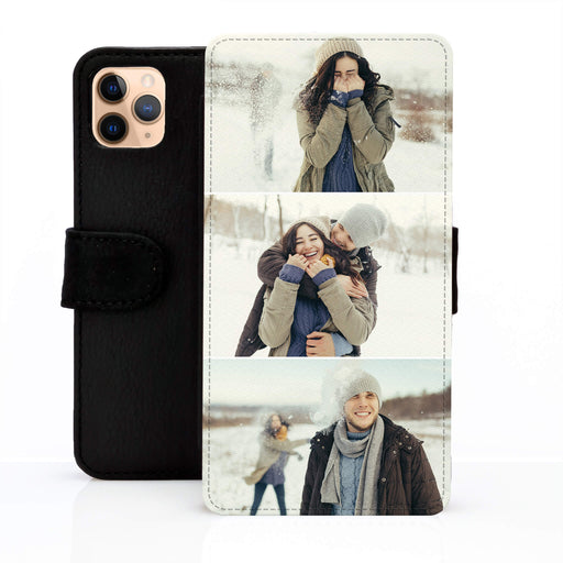 3 Photo Collage | iPhone Wallet Phone Case design-your-gift.