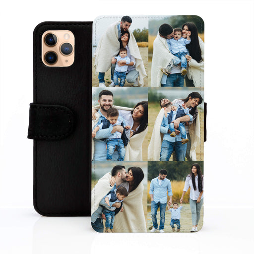 6 Photo Collage | iPhone Wallet Phone Case design-your-gift.