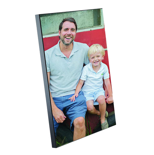 personalised Wooden Photo Block 8''x12'' Wall Photo Frame