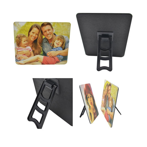 personalised Leather Photo Frame - 17.7 x 12.8 cm