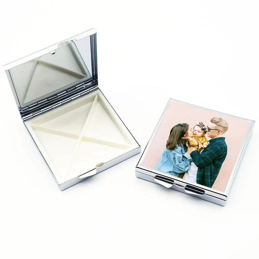 Personalised Pill Box - Square
