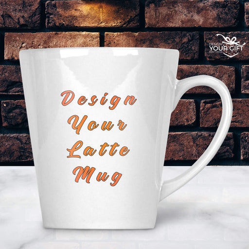 Design Your own Mug | Personalised Latte Mug design-your-gift.