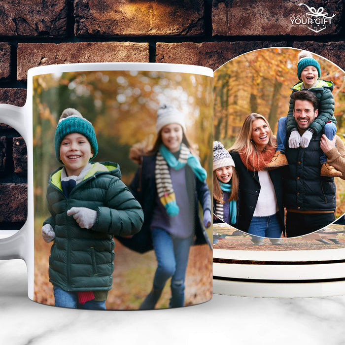 Design Your Own Mug | Personalised White Mug design-your-gift.