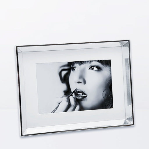 Silver Photo Frame with 6x4 photo print