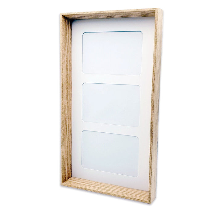 blank Triple Photo Frame 6x4
