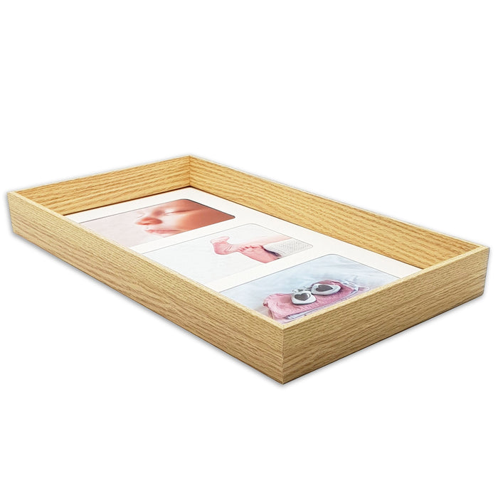 Triple Photo Frame 6x4 side