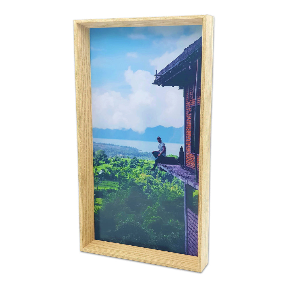 Box Photo Frame with portrait picture