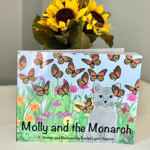 Molly and the Monarch, Childrens Book, Childrens Literature, Kids Book, Monarch Book, Butterfly Picture Book, Cat Book, Canadian Wildlife
