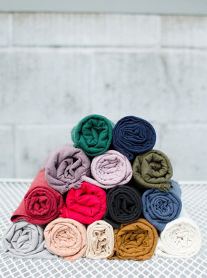 THE RAW SILK SCRAP BUNDLE