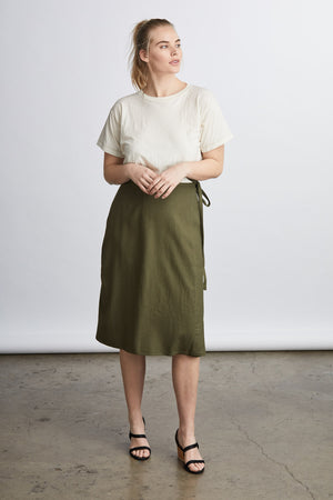 THE WRAP SKIRT