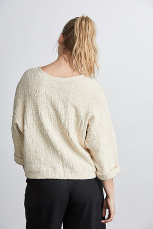 SAMPLE SALE: THE MID-WEIGHT T SWEATER