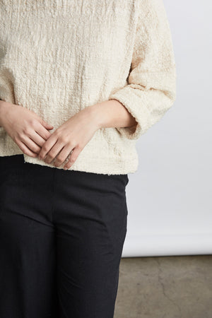 SAMPLE SALE: THE MID-WEIGHT T SWEATER *EXTENDED LENGTH*