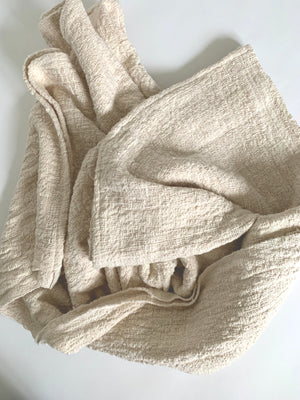 THE MID-WEIGHT HANDWOVEN THROW BLANKET