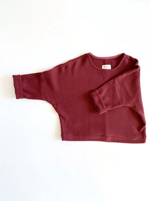 THE TWILL T SWEATER *2 - 4 Week Turnaround*