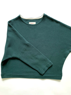 THE TWILL T SWEATER