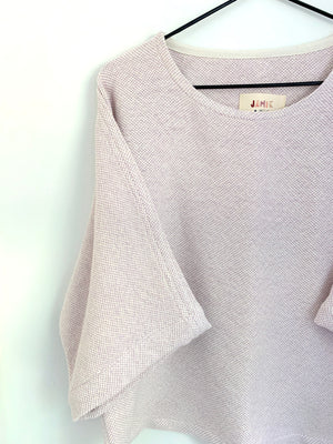 THE SPECKLED DOLMAN TOP