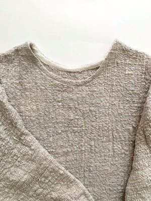 THE HAND-DYED MID-WEIGHT T SWEATER