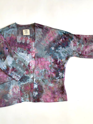THE COSMIC DYED SILK HAORI